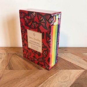 NWT Vera Bradley Coloring Collection Mini Book Set